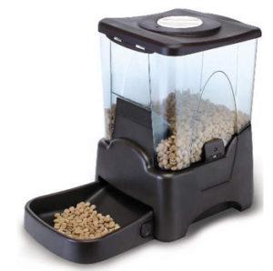 Большая автоматическая кормушка для кошек и собак с ЖК дисплеем.